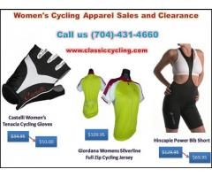 Biggest Discounted Women's Cycling Apparel Sales and Clearance