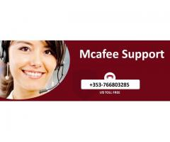 Get Excellent Support by dialing McAfee Helpline +353-498994003