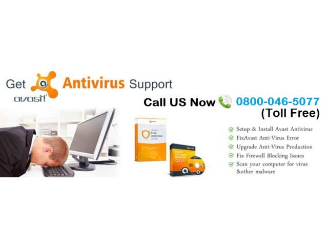 Support Avast Antivirus Call 0800-046-5077