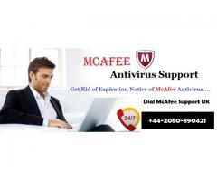 McAfee AntiVirus Support UK is here for all clarification of issues