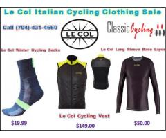 Huge Sale on Le Col Italian Cycling Clothing Brands | classiccycling.com