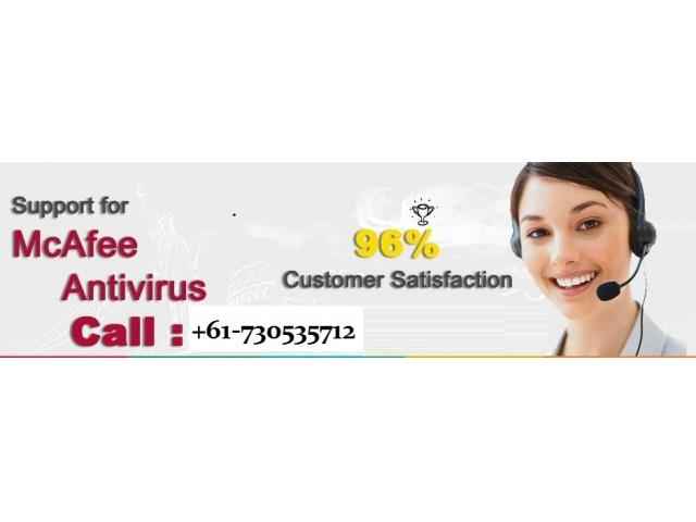 McAfee Customer Service Number +61-730535712
