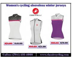 2018 Sale | Women's cycling sleeveless winter jerseys