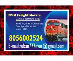 NVM Freight Movers   Chennai Central Stations   door step service   8056002524 since 1979