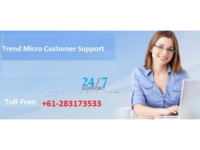 Trend Micro Toll-Free Number +61-283173533