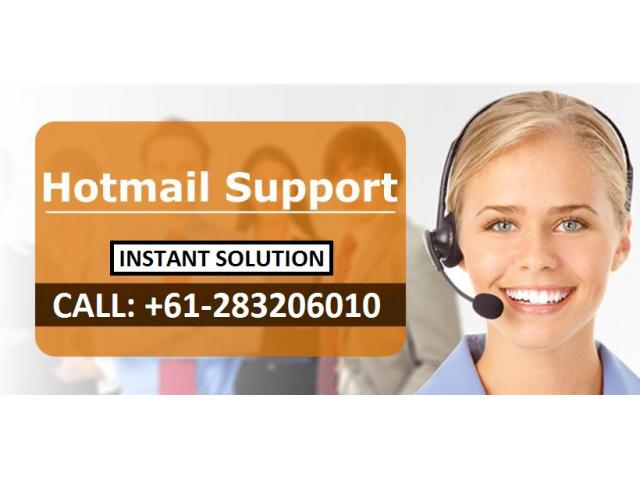 Dial Hotmail Helpline Number Australia for Help +61-283206010