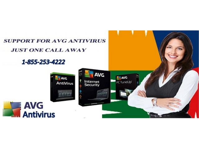 AVG Technical Support Canada 1-855-253-4222