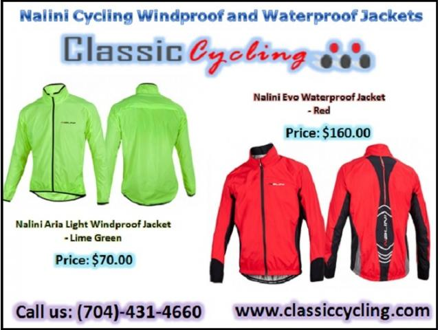 Biggest Discounted on Nalini Cycling Windproof and Waterproof Jackets