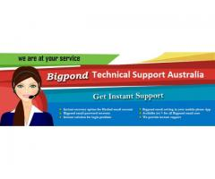 Get Instant Solutions To Email related Issues With a Bigpond Support.