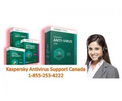 Looking for Kaspersky Antivirus Support Canada 1-855-253-4222