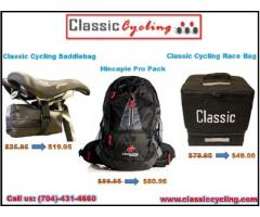Leading Classic Cycling Compact Saddlebags, Race Bags, Pro Back Pack