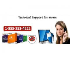 Avast Antivirus Support Canada Helpline Number 1-855-253-4222