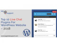 Top 10 Live Chat Plugins For      WordPress Website – 2018