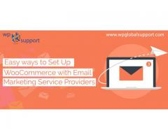 Easy ways to Set Up WooCommerce with Email Marketing Service Providers