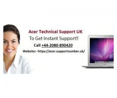 Contact Acer Helpline Number UK for any Issues of Acer Products