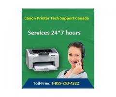 Canon Printer Helpline Number Canada 1-855-253-4222