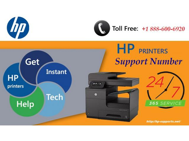 Hp Printer Customer Support +1 888-600-6920 in USA