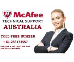 McAfee Support Australia Helpline + 61-283173557