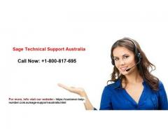 Call Sage Support Australia +1-800-817-695 for Your Query