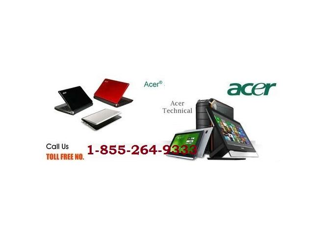 Acer Laptop Repair Center Canada 1-855-264-9333