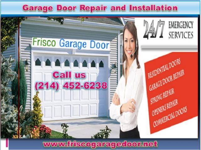 Expert Commercial Garage Door Installation in Frisco