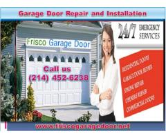 Expert Commercial Garage Door Installation in Frisco