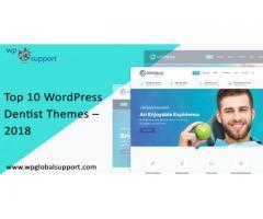 Top 10 WordPress Dentist Themes – 2018