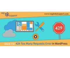 Quick Fix: 429 Too Many Requests Error in WordPress