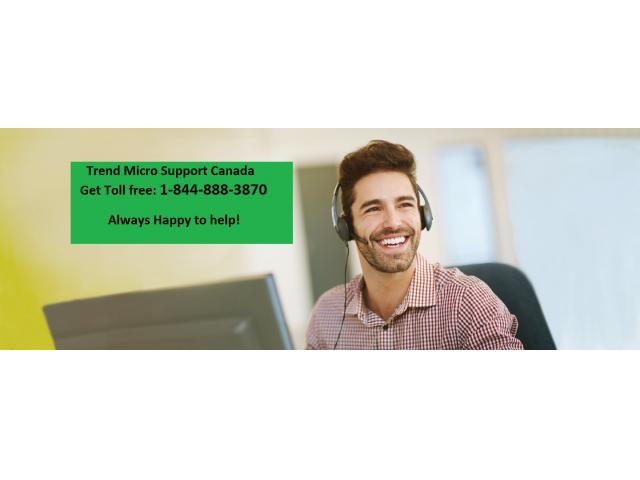 Dial 1-844-888-3870 for Trend Micro Support