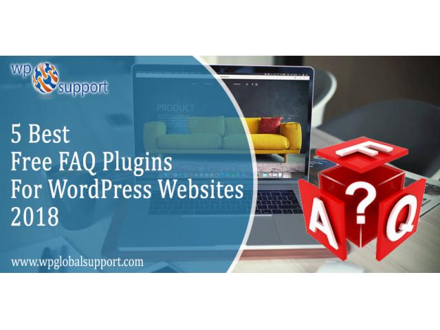 5 Best Free FAQ Plugins For WordPress Websites – 2018