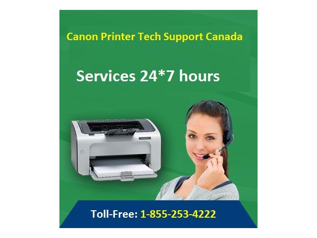 Canon Printer Support Number 1-855-253-4222