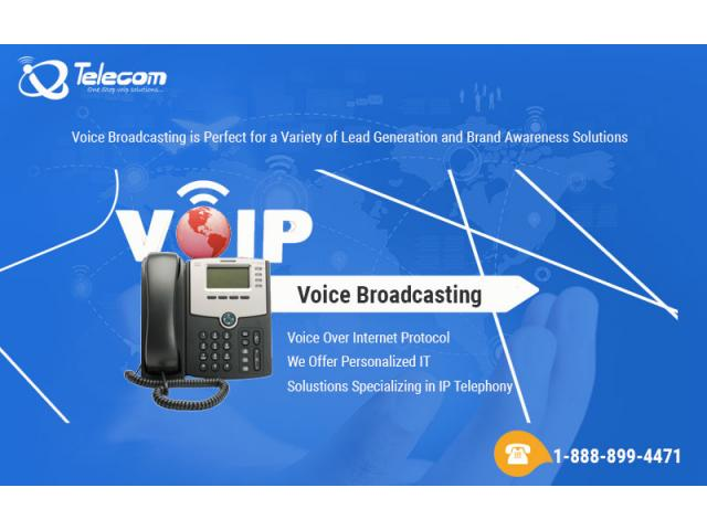 voice broadcasting service provider us 1-888-899-4471