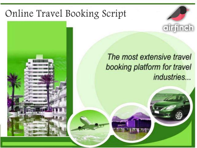 Airfinch -  Travel Rental Script Comes with Unique Feature