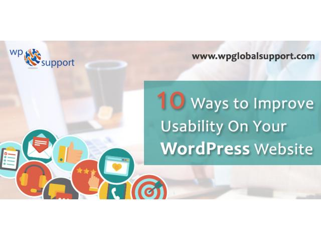 Ways to Improve Usability On Your WordPress Website