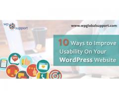 Ways to Improve Usability On Your WordPress Website