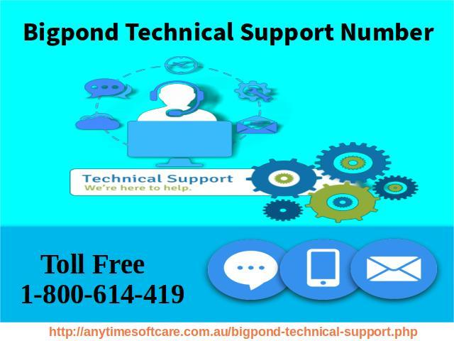 Establish Security 1-800-614-419| Bigpond Technical Support Number