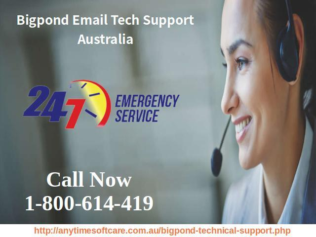 Bigpond Email Tech Support Australia 1-800-614-419| Anytime