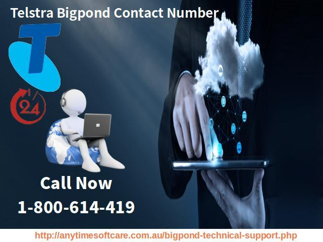 Telstra Bigpond Contact Number  1-800-614-419|Login/Signup Issues