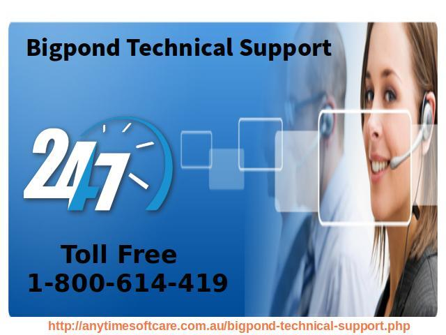 1-800-614-419 Bigpond Technical Support| Services