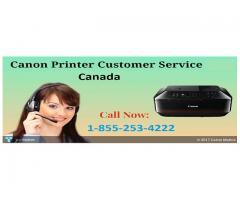 Canon Printer Technical Support Canada 1-855-253-4222