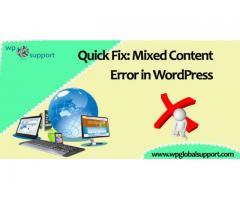 Fix the Mixed Content Error in WordPress