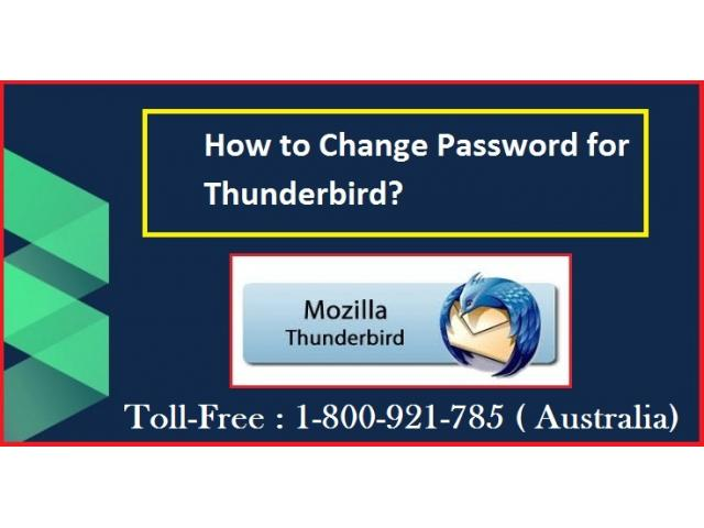 How to Change Password for Thunderbird?