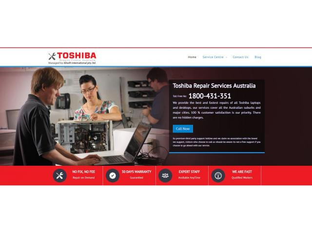Toshiba Laptop Support Australia