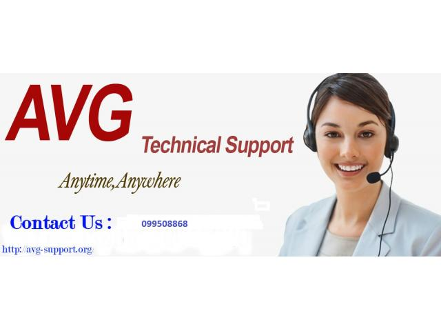 AVG Support Number 099508868