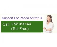 Panda support helpline number 1-855-253-4222