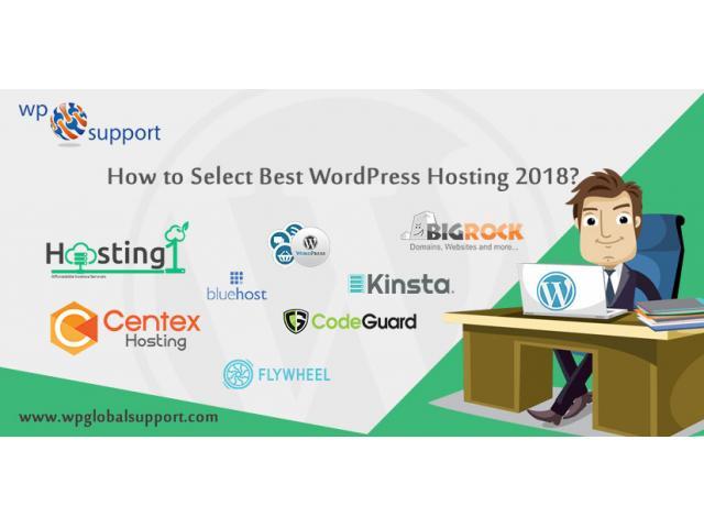How to choose best WordPress Hosting 2018?