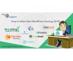 How to choose best WordPress Hosting 2018?