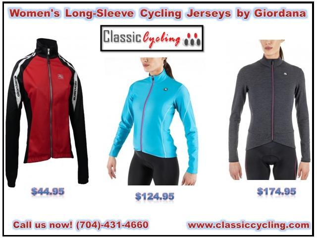 Huge Discount on Women's Long-Sleeve Cycling Jerseys