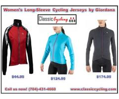 Huge Discount on Women's Long-Sleeve Cycling Jerseys