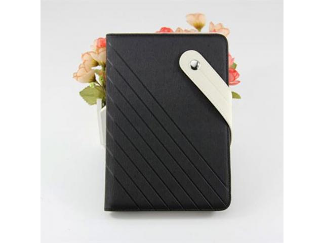 Apple iPad Mini Antiskid Leather Wallet Case with Card Slot with Detachable Fixed Belt